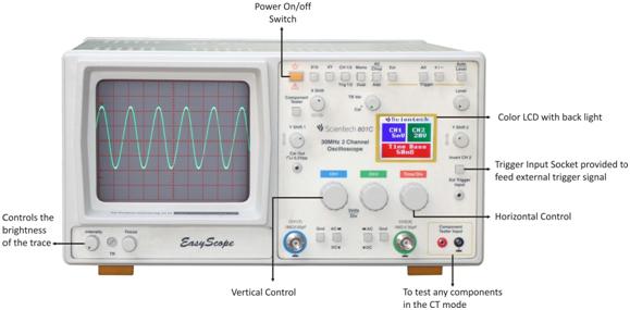 analog oscillscope