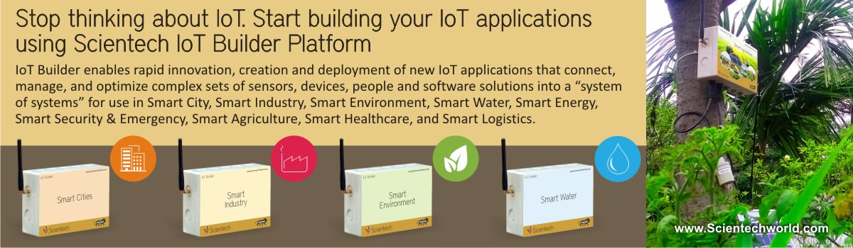 Develop IoT Applications - Scientech 6205