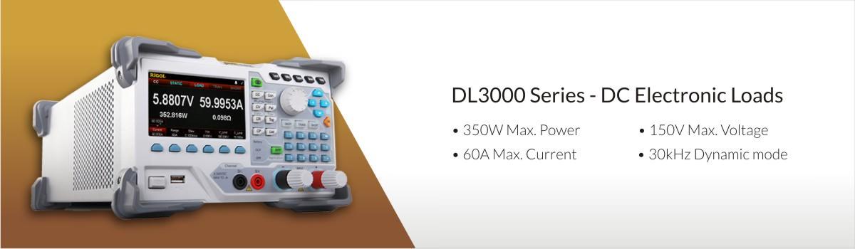 DC Electronic Loads - Rigol DL3000