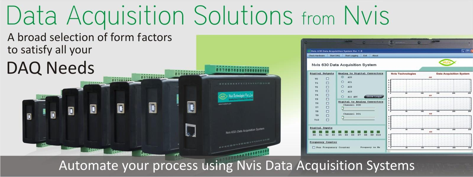 Data Acquisition Systems And Solutions Daq Scientech