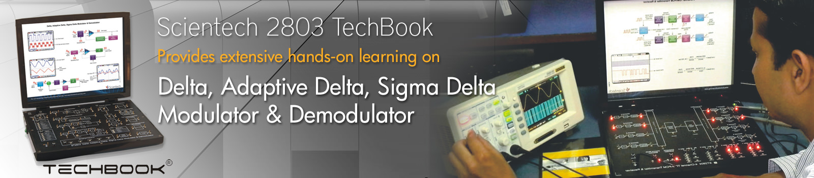 Delta, Adaptive Delta, Sigma Delta Modulator and Demodulator
