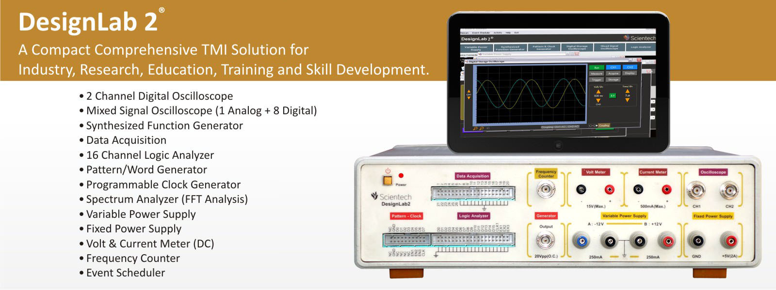 DesignLab 2, 12 in 1 Instrument