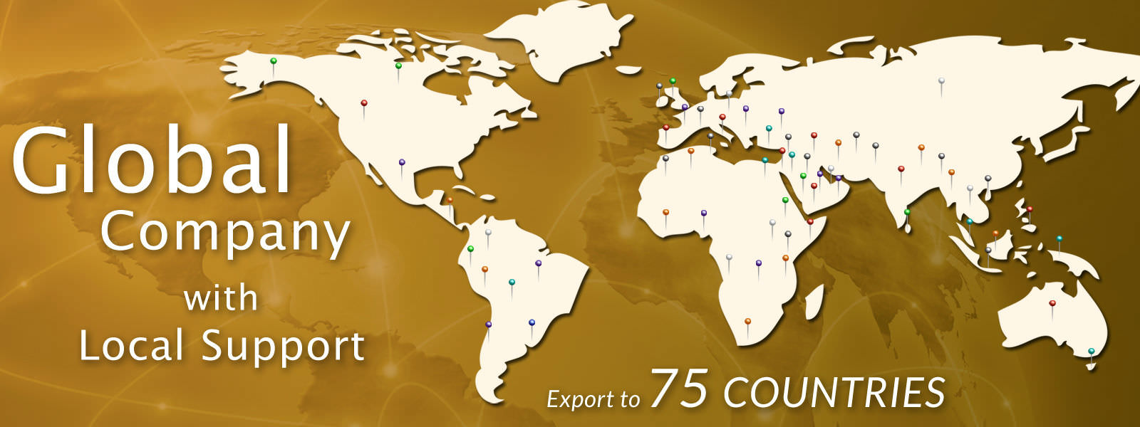 Scientech Export to 75 Countries