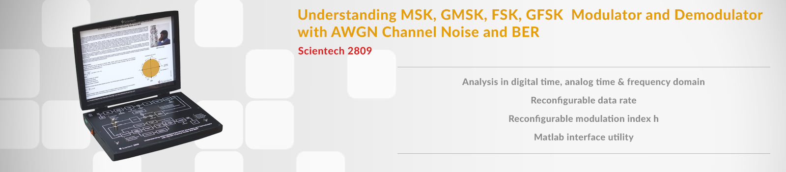 Understanding MSK, GMSK, FSK, GFSK Modulator and Demodulator with AWGN Channel Noise and BER