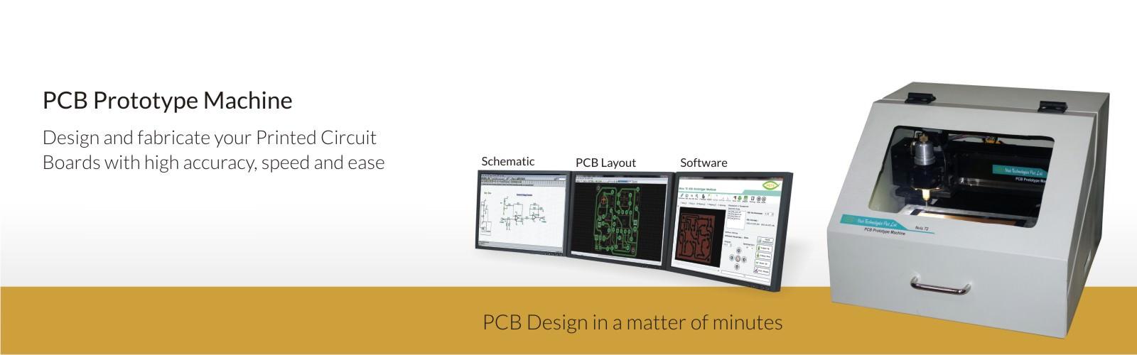 PCB Prototype Machine - Nvis 72