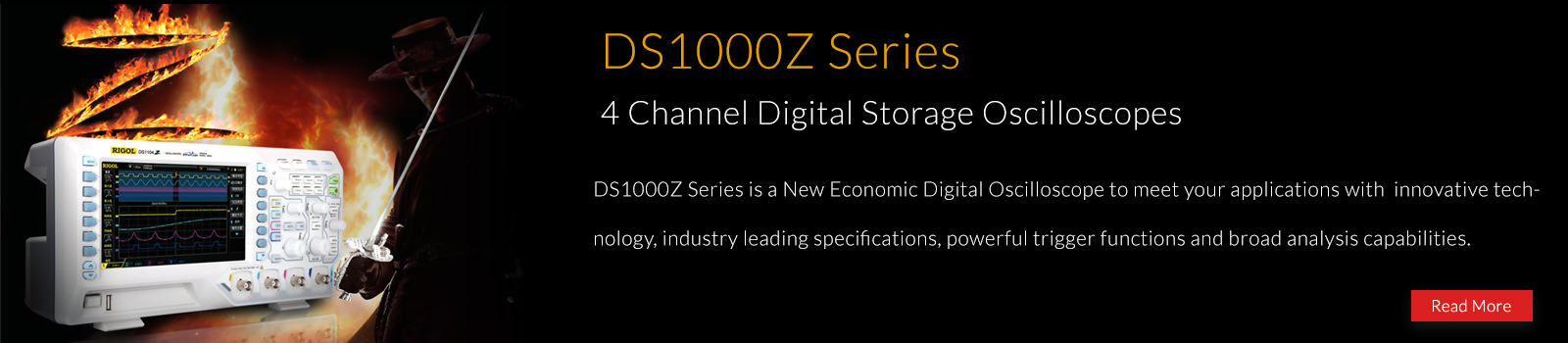 Rigol DS1000Z Series Digital Oscilloscopes