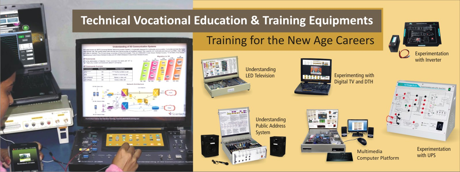 Technical, Vocational, Education and Training Equipments