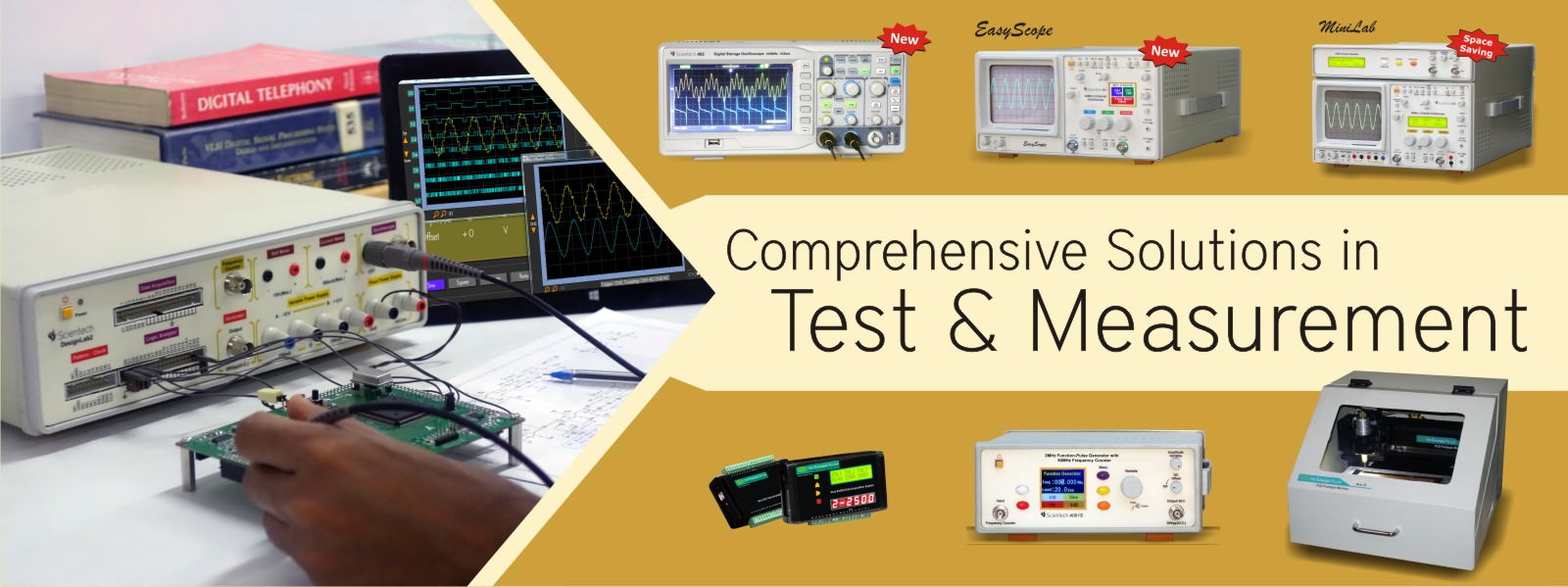 Test and Measurement Equipments