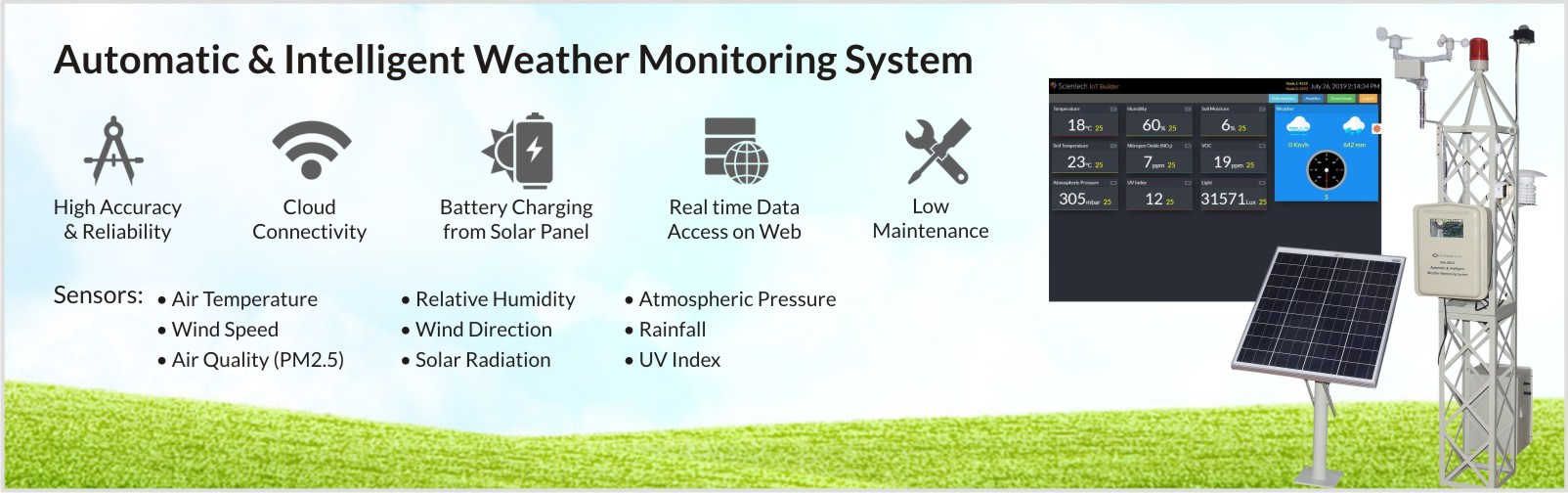 Nvis 6010 Weather Monitoring Station