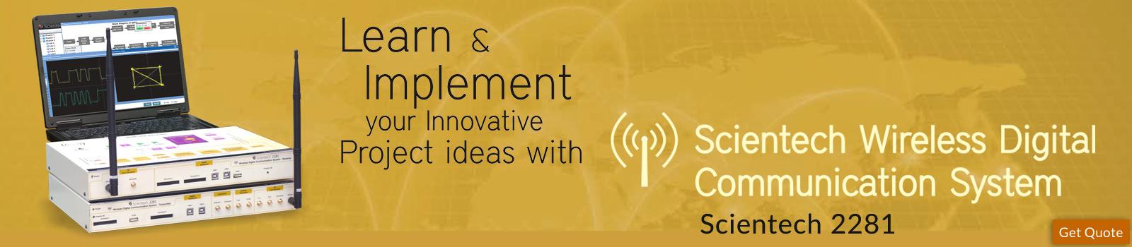 Scientech Wireless Digital Communication System
