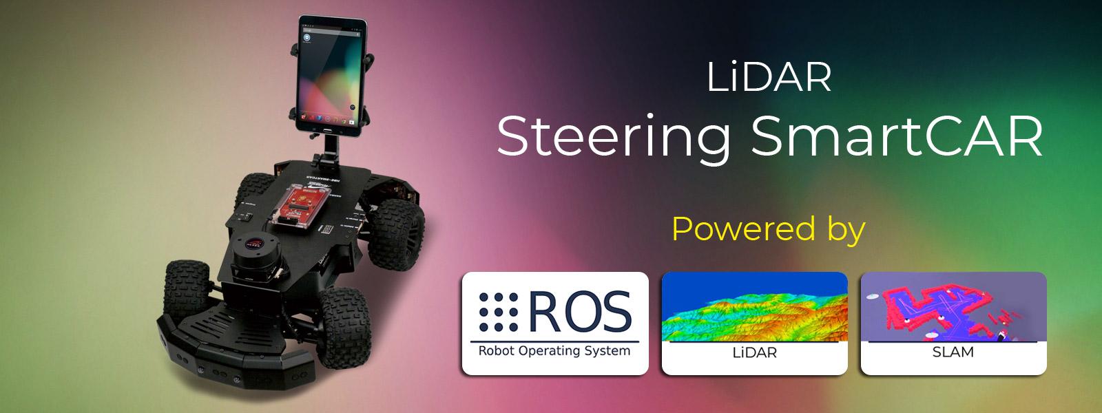 Steering Smart Car | Lidar-Steering-Smart-Car