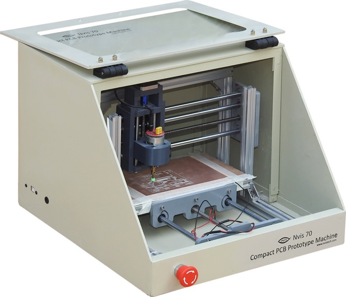 compact pcb prototype machie