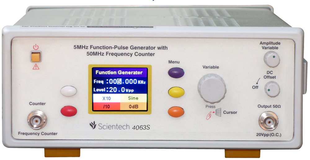 5 MHz Synthesized Function Generator