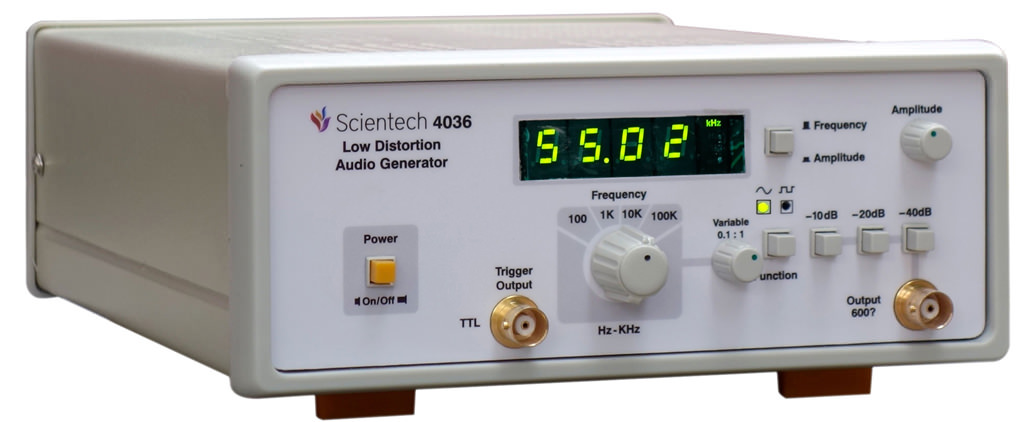 Low Distortion Audio Generator Scientech4036
