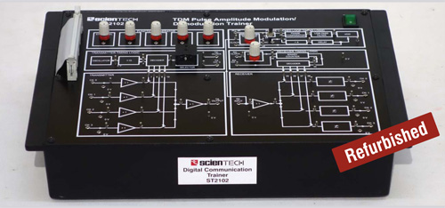 TDM Pulse Amplitude Modulation/Demodulation Trainer
