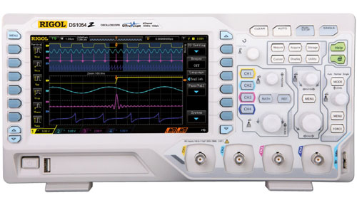 70 MHz Digital Oscilloscope
