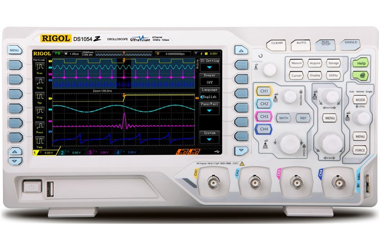 50MHz Digital Oscilloscope