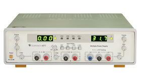 0 - 30V / 2A, 15V / 1A Tracking, 5V / 2A Multiple DC Power Supply