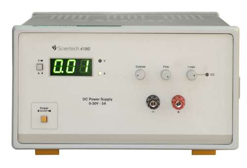 0 - 30V 5A DC Power Supply Scientech 4180