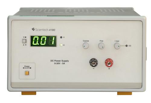 0 - 30V 5A DC Power Supply Scientech 4180
