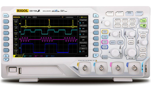 100 MHz Digital Oscilloscope with 4 Channels