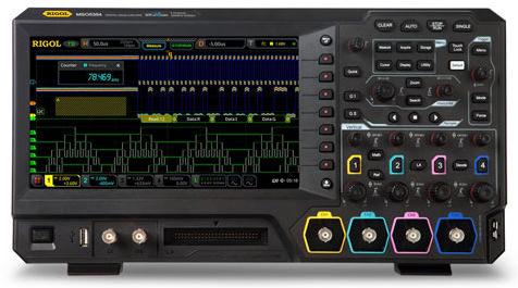100MHz Mixed Signal Oscilloscope