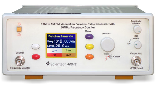 10MHz AM-FM Modulation Function-Pulse Generator with 50MHz Frequency Counter