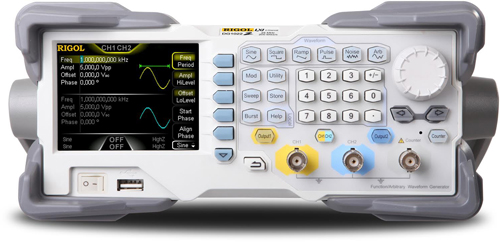 25 MHz Arbitrary Function Generator with Two channel