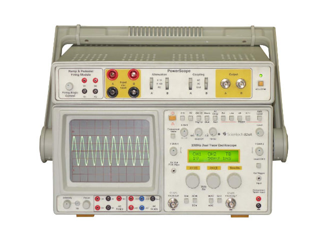 30 MHz Oscilloscope / PowerScope with Ramp & Pedestal Firing Circuit