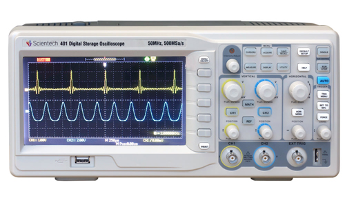 50 MHz Digital Storage Oscilloscope