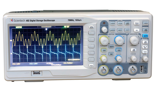 70 MHz Digital Storage Oscilloscope