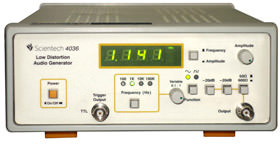 Low Distortion Audio Generator