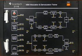 MSK Modulator and Demodulator