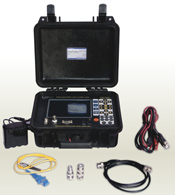 Multi-purpose TDR for optic & metallic cables