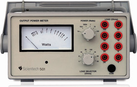 Audio Output Power meter