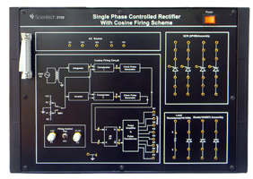 Single Phase Controlled Rectifier with Cosine Firing Scheme