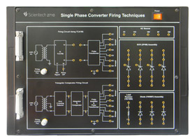 Single Phase Converter Firing Techniques