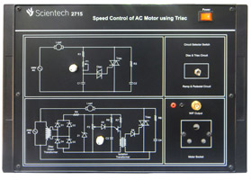 Speed Control of AC Motor Using TRIAC