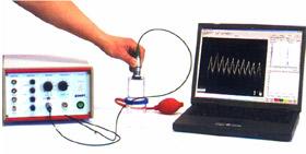 Ultrasonic T-M mode