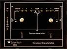 Common Base NPN Transistor Characteristics