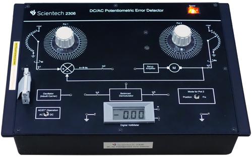 DC/AC Potentiometric Error Detector