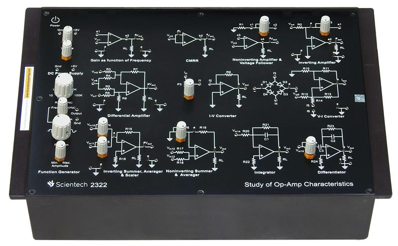 Experimentation of OP-AMP Characteristics
