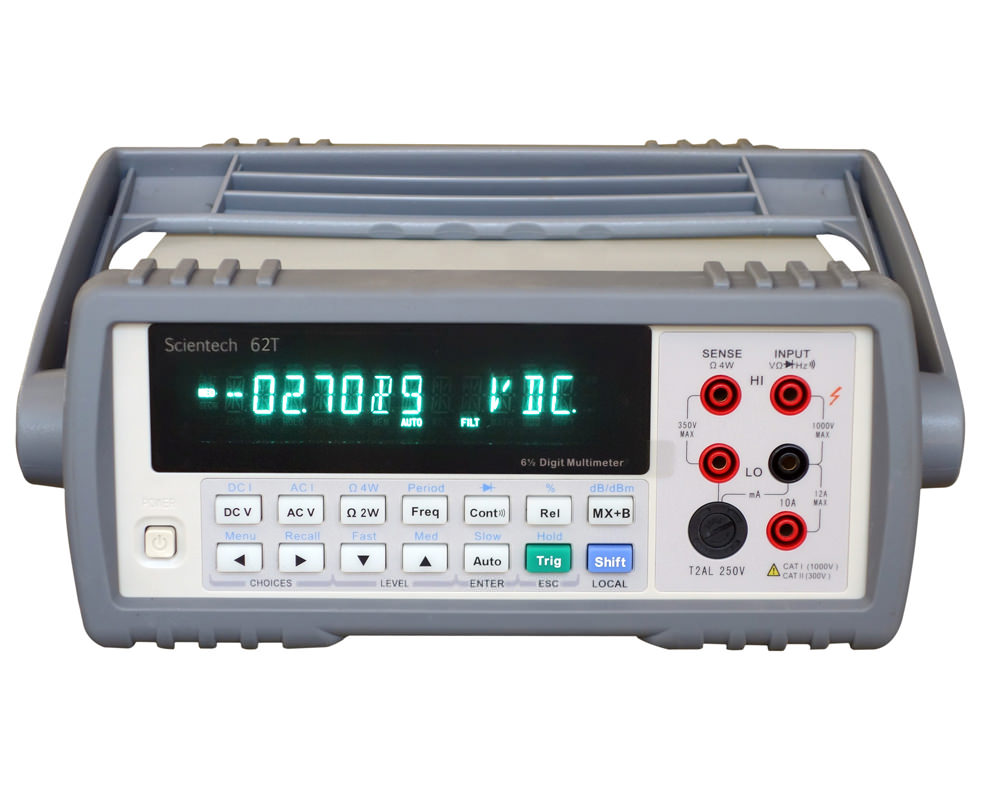 5 1/2 Digital BenchTop Multimeters