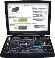 Optical Fiber Communication Training Kit Scientech 2501A