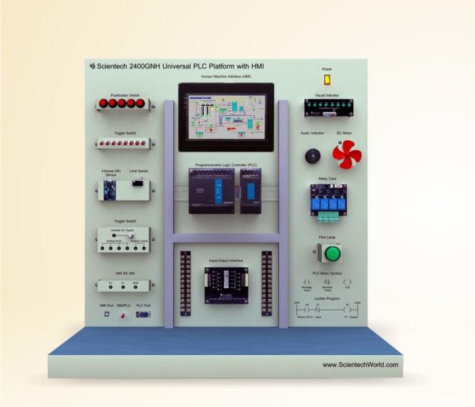 Universal PLC Platform with HMI
