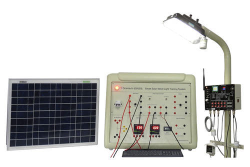 Smart Solar Street Light Training System