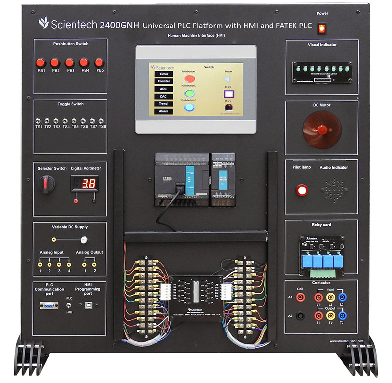 Universal PLC Platform (FATEK) with HMI
