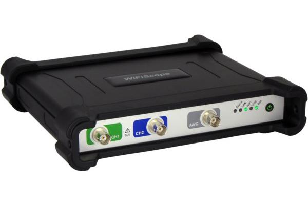 WiFi oscilloscope